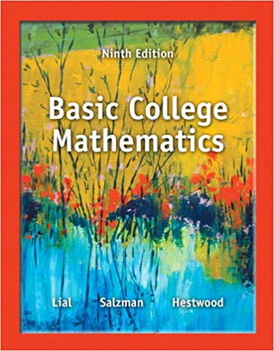 Basic College Mathematics 9th Edition