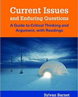 Current Issues and Enduring Questions 10th Edition