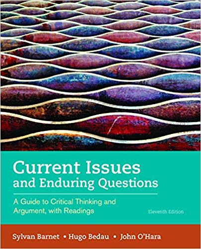 Current Issues and Enduring Questions 11th Edition