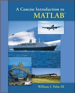 A Concise Introduction to MATLAB