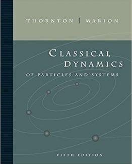 Classical Dynamics of Particles and Systems 5th Edition