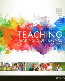 Teaching Making a Difference 3rd Edition