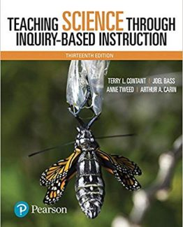 Teaching Science Through Inquiry-Based Instruction 13th Edition