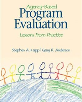 Agency Based Program Evaluation Lessons From Practice