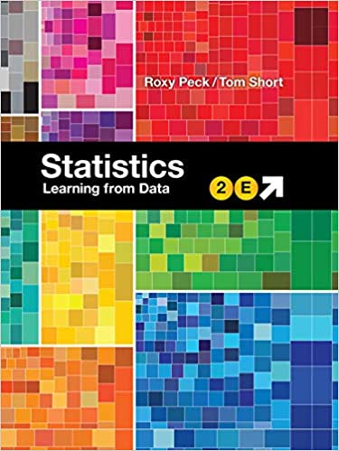 Statistics Learning from Data 2nd Edition by Roxy Peck