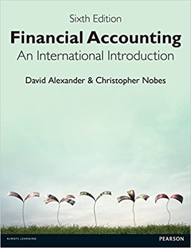 Financial Accounting An International Introduction 6th Edition